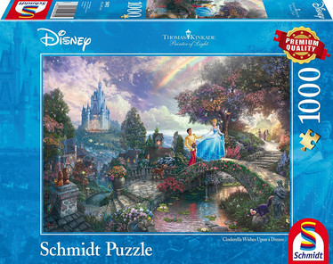 Schmidt Thomas Kinkade Cinderella Wishes upon a Dream palapeli