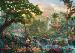 Schmidt Thomas Kinkade Disney The Jungle Book palapeli