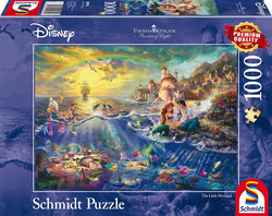 Schmidt Thomas Kinkade Disney Little Mermaid palapeli