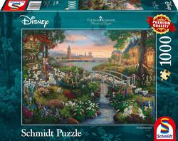 Schmidt Thomas Kinkade Disney 101 Dalmatialaista palapeli