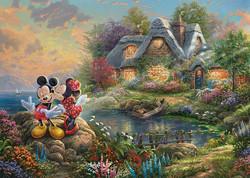 Schmidt Thomas Kinkade, Disney-Sweethearts Mickey & Minnie palapeli