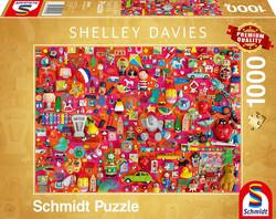 Schmidt Shelley Davies - Vintage Toys palapeli