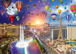 Schmidt Lars Stewart-Las Vegas-Night and Day palapeli