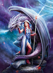 Clementoni Anne Stokes-Dragon Mage palapeli
