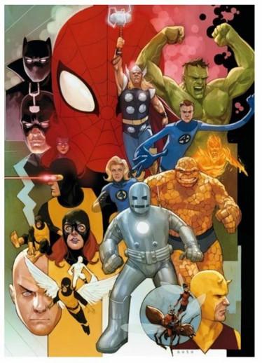 Clementoni Marvel Heroes palapeli