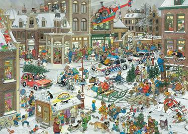 Jan Van Haasteren Christmas palapeli 1000 palaa