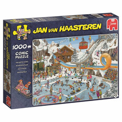 Jan Van Haasteren - The Winter Games palapeli