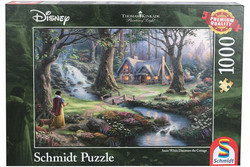 Schmidt Thomas Kinkade Snow White Discovers the Cottage palapeli