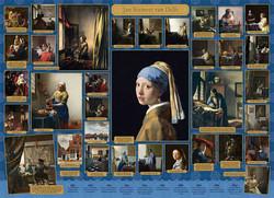 Cobble Hill Jan Vermeer van Delft palapeli