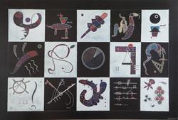 Bluebird Wassily Kandinsky - Quinze palapeli