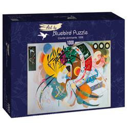 Bluebird Wassily Kandinsky - Courbe dominante palapeli