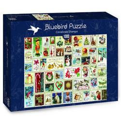 Bluebird Barbara Behr Christmas Stamps palapeli