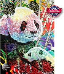 Anatolian Rainbow Panda palapeli