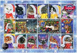 Anatolian Christmas Cats palapeli