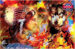 Anatolian Wolf Maiden palapeli