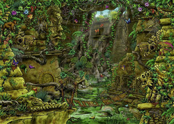 Ravensburger Escape The Temple Ankor palapeli