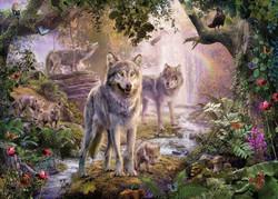 Ravensburber Summer Wolves palapeli