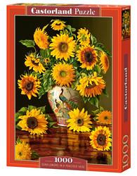 Castorland Sunflowers in a Peacock Vase palapeli 1000 palaa