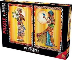 Anatolian Afrikali Kadinlar 2x500 palan palapeliä