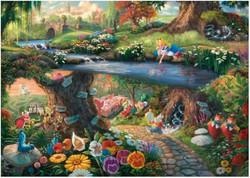 Schmidt Thomas Kinkade - Disney - Alice in Wonderland palapeli 1000 p