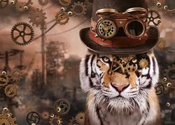 Schmidt Markus Binz Steampunk Tiger palapeli
