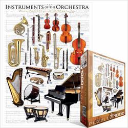 Eurographics Instruments of the Orchestra palapeli 1000 palaa