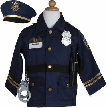 Great Pretenders Poliisin asu + tarvikkeet 5-7v