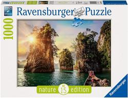 Ravensburger Three Rocks in Cheow Thailand palapeli 1000 palaa