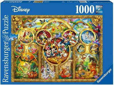 Ravensburger The Best Disney Themes palapeli 1000 palaa