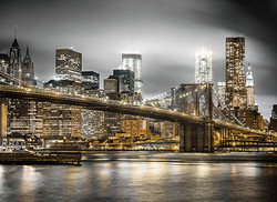 Clementoni New York palapeli 1000palaa glows in the dark