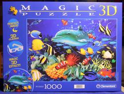 Clementoni 3 D Delfin Reef palapeli 1000 palaa