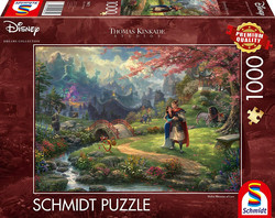 Schmidt  Disney Thomas Kinkade-Mulan Blossoms of Love palapeli