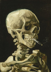 Bluebird Vincent Van Gogh-Head of a Skeleton with a Burning Cigarette palapeli