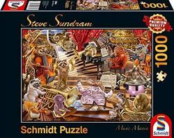 Schmidt Steve Sundram-Music Mania palapeli 1000 palaa