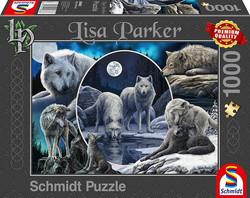 Schmidt Lisa Parker - Magnificent Wolves palapeli 1000 palaa