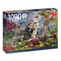 Jumbo Owls in the Moonlight palapeli 1000palaa