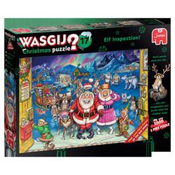 Wasgij Christmas 17 - Elf Inspection palapeli 2x1000palaa