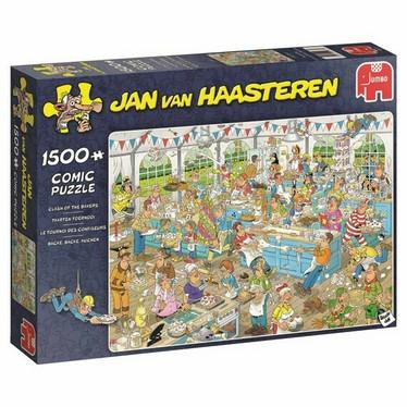 Jan Van Haasteren Clash of the Bakers-palapeli, 1500palaa