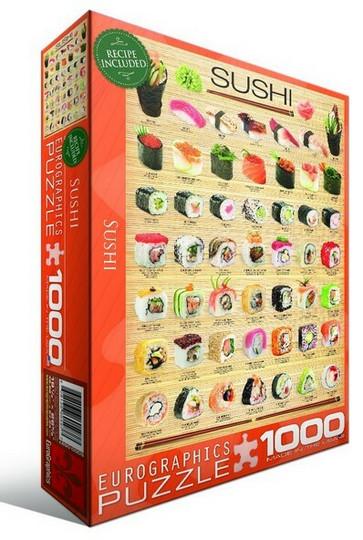 Eurographics Sushi palapeli 1000 palaa