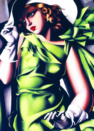 Eurographics Young Girl In Green palapeli 1000 palaa