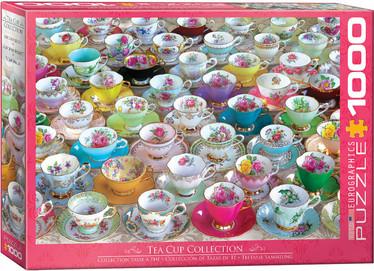 Eurographics Tea Cup Collection palapeli 1000 palaa