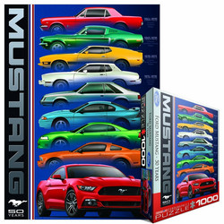 Eurographics Ford Mustang - 50 years palapeli 1000 palaa