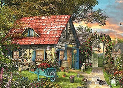 Falcon Dominic Davison The Woodland Cottage palapeli 2x1000 palaa