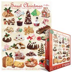 Eurographics Sweet Christmas palapeli 1000 palaa