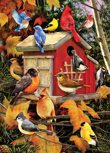 Cobble Hill Fall Birds palapeli 1000 palaa