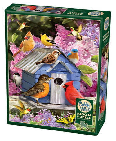 Cobble Hill Spring Birdhouse palapeli 1000 palaa