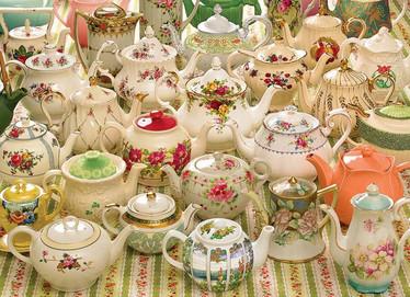 Cobble Hill Teapots Too palapeli 1000 palaa