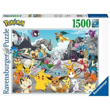 Ravensburger, Pokemon Classic palapeli 1500 palaa