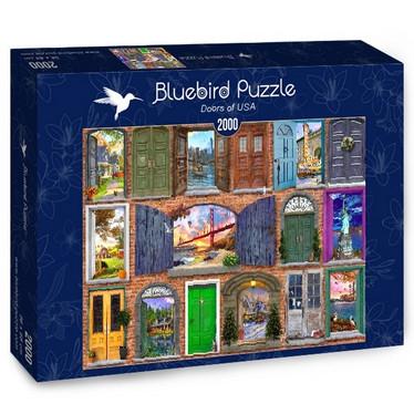 Bluebirds Doors of USA -palapeli 2000 palaa