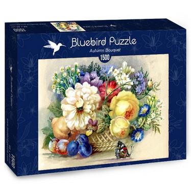 Bluebirds Autumn Bouquet palapeli 1500 palaa